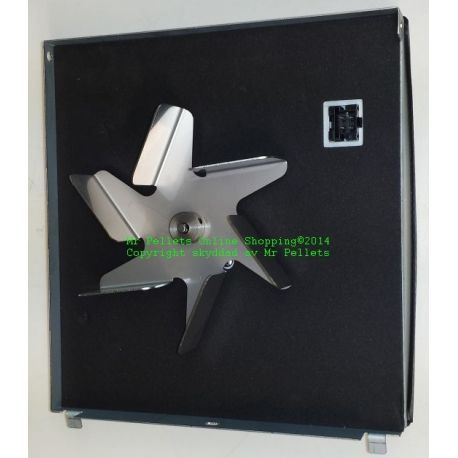 Dragfläkt-09 komplett m. fläkt-plåt-tätning