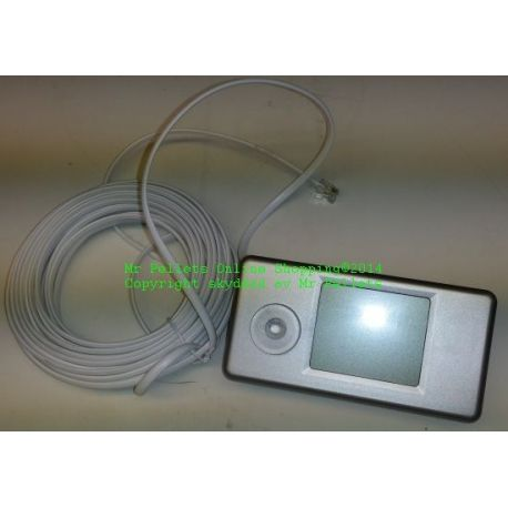 Manöverpanel-Termostat CC05 kpl. med kabel