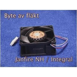 Film byte av fläkt Janfire NH
