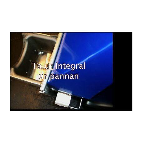 Tar ur Integral från pannan