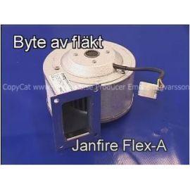 Film byte av fläkt Janfire NH