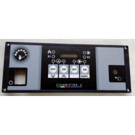 Manöverpanel 4-digits-Combifire-Pelletspanna